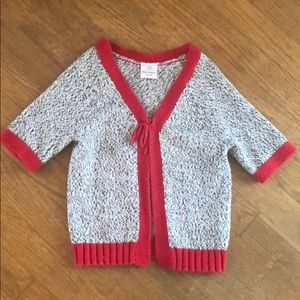 Hanna Anderson Toddler Girls EUC Sweater Size 90
